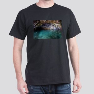 Kalalau Beach Cave Spa Dark T-Shirt